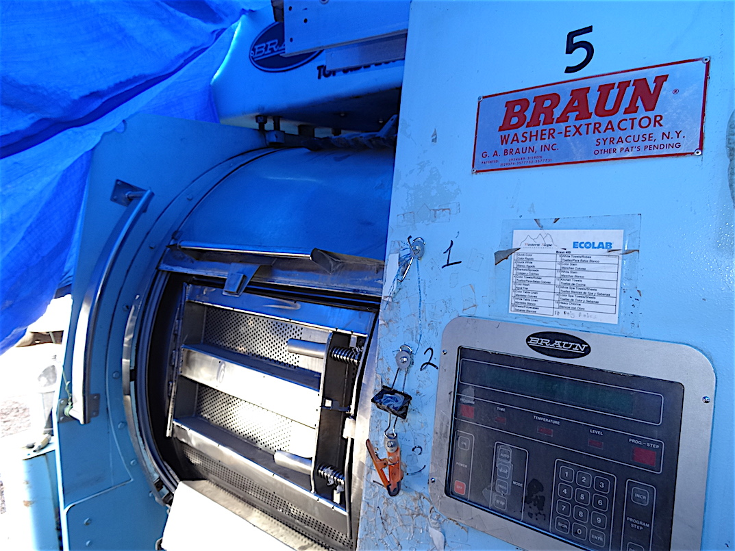 Braun Washer Extractor Parts ~ Braun tsl lb top side loading washer extractor
